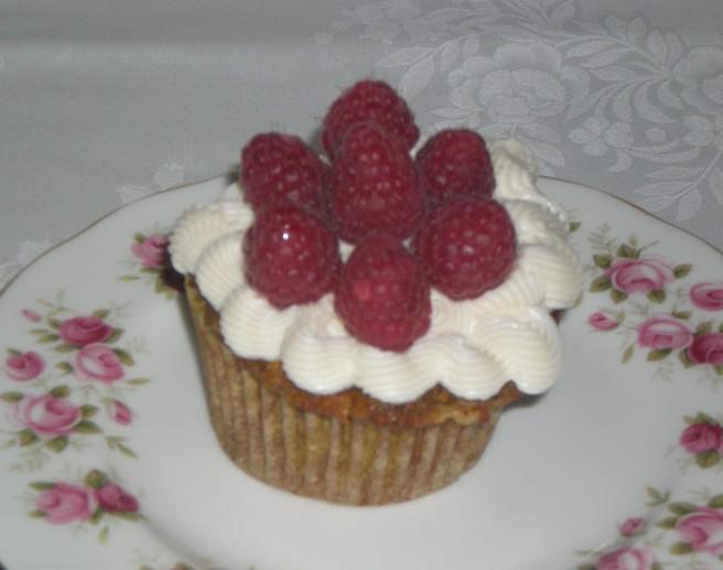 Valentine's Day Cupcakes - Raspberry Cupcake