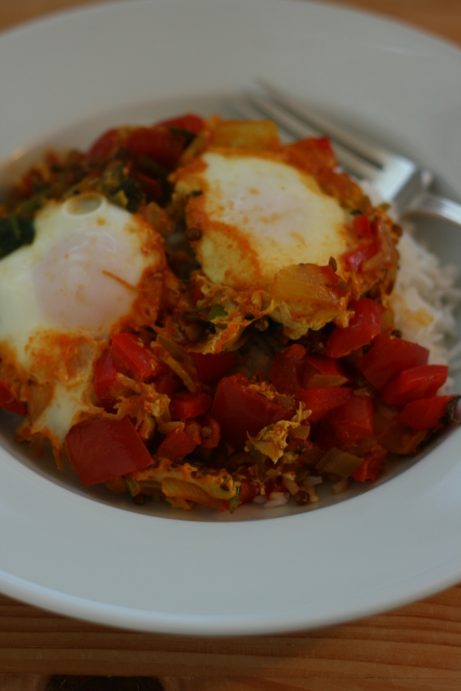 Indian-style Eggs
