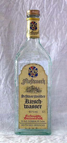 Black Forest Torte (Schwarzwaelder Kirschtorte) - Kirschwasser