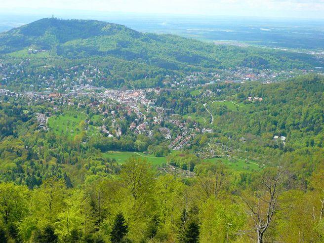 Black Forest Torte (Schwarzwaelder Kirschtorte) - Baden Baden, Black Forest
