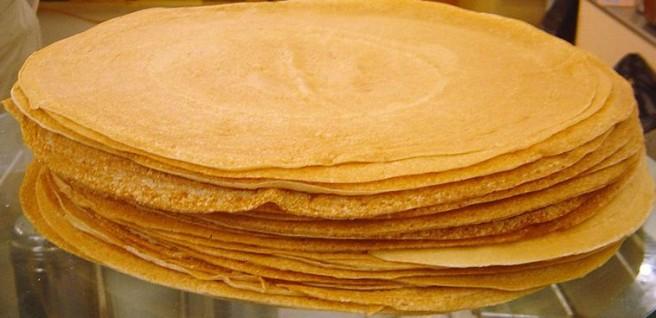 Chestnut Flour Crepes - Crepes by David Monnieaux