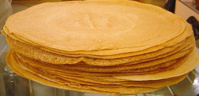 Chestnut Flour Crepes - Crepes by David Monnieaux