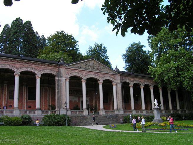 Black Forest Torte (Schwarzwaelder Kirschtorte) - Trinkhalle, Kurhaus in Baden Baden, Black Forest