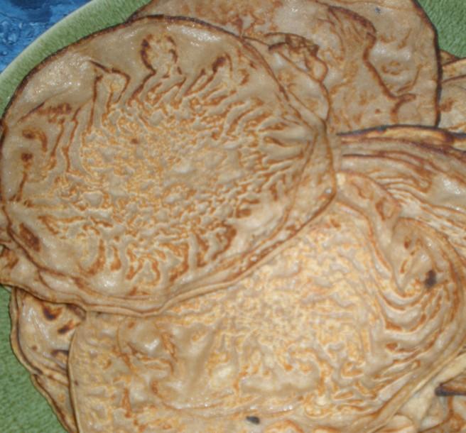 Chestnut Flour Crepes