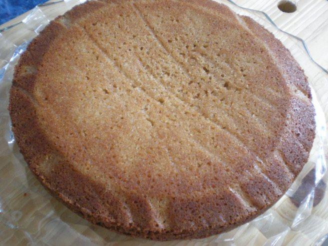 Dowd and Rogers Gluten Free Dark Vanilla Cake - Baked Cake
