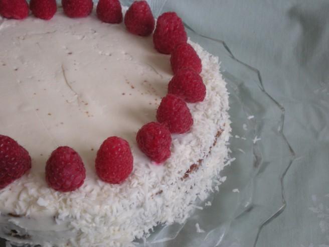 Dowd and Rogers gluten free dark vanilla cake