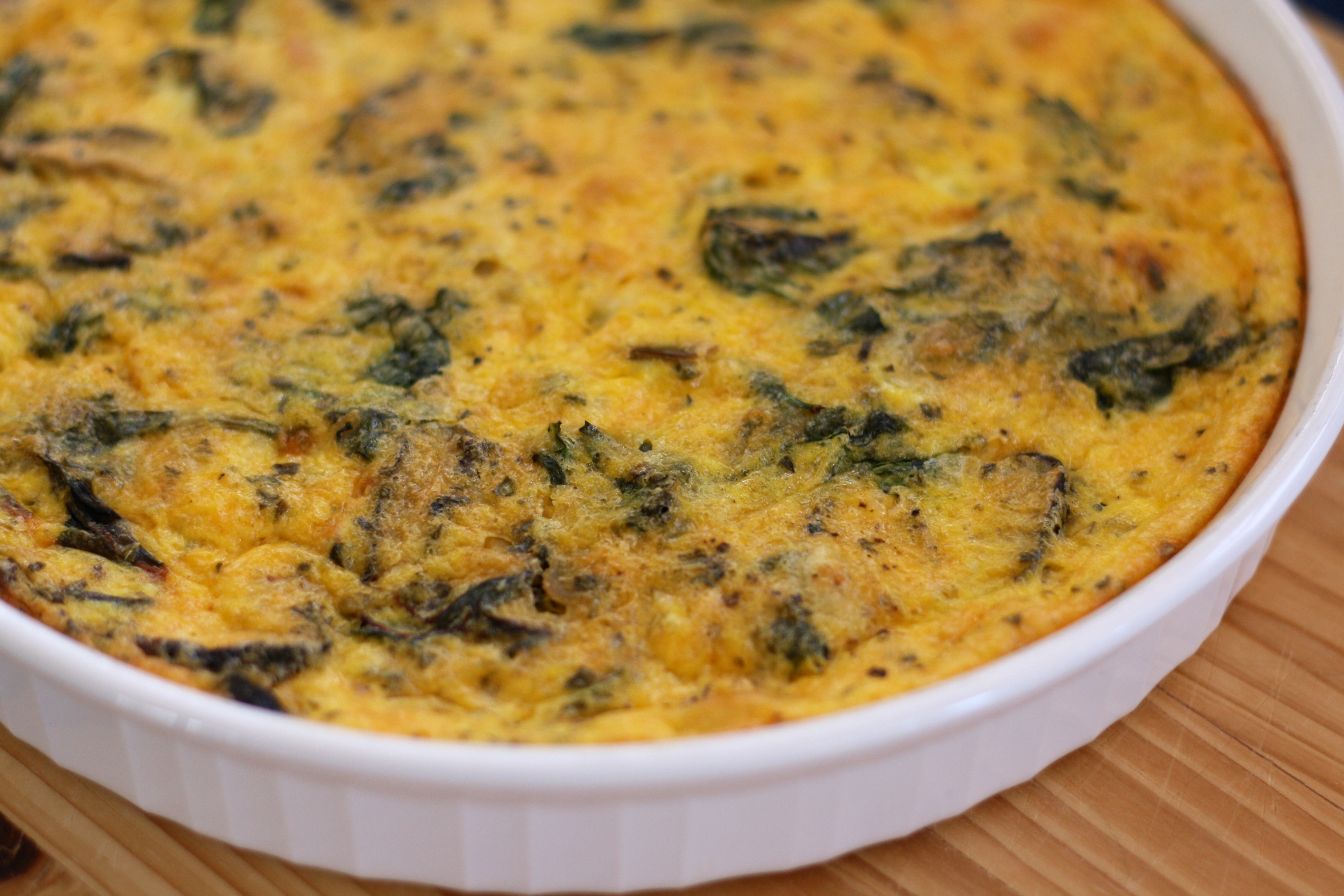 quiche crustless quiche frittata eggs recipes dishmaps quiche frittata ...