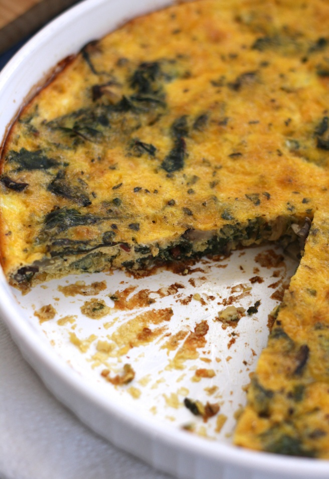 Quiche/Fritatta, copyright 2015, gfcelebration.com, All rights reserved