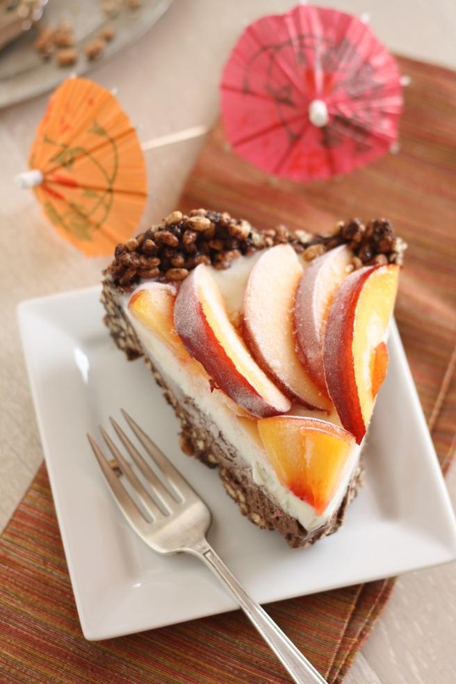 Coconut Milk Ice Cream Cake - A delicious Summer dessert