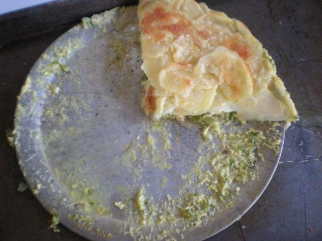 Potato and Zucchini Pie