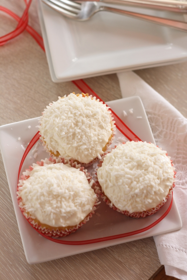Lemon-Coconut Cupcakes