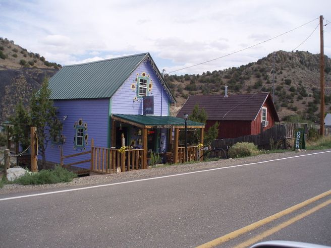 Madrid, NM: A Ghost Town Reborn - Madrid Miners' Cabins