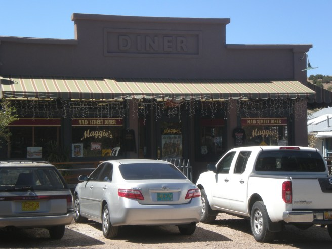 Madrid, NM: A Ghost Town Reborn - Maggie's Diner