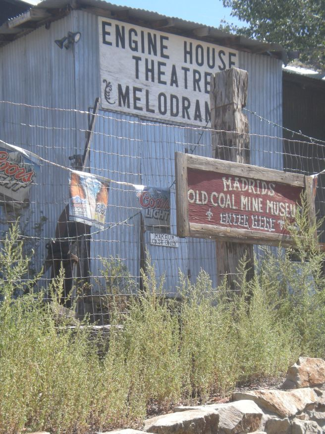 Madrid, NM: A Ghost Town Reborn - Engine House Theater