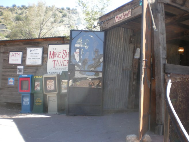 Madrid, NM: A Ghost Town Reborn - Mineshaft Tavern Entrance