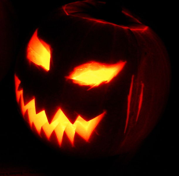 Halloween Cupcakes: Pumpkin Owls and Hedgehogs - Jack-O-Lantern