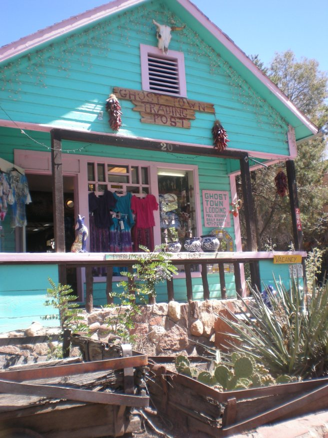 Madrid, NM: A Ghost Town Reborn - Ghost Town Trading Post