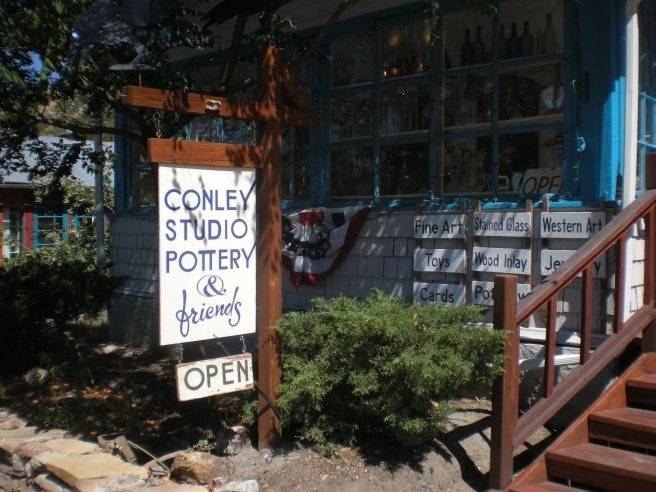 Madrid, NM: A Ghost Town Reborn - Conley's Pottery Studio