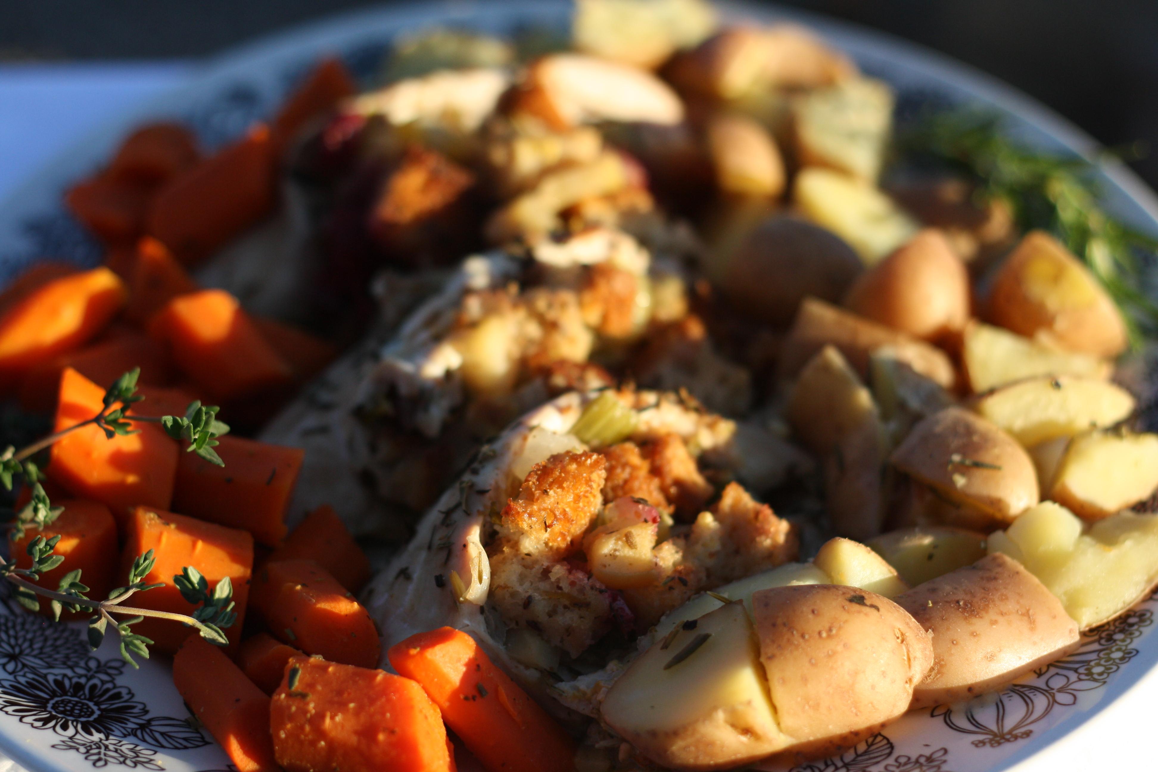 turkey breast herb roasted turkey breast tuscan roast turkey breast ...