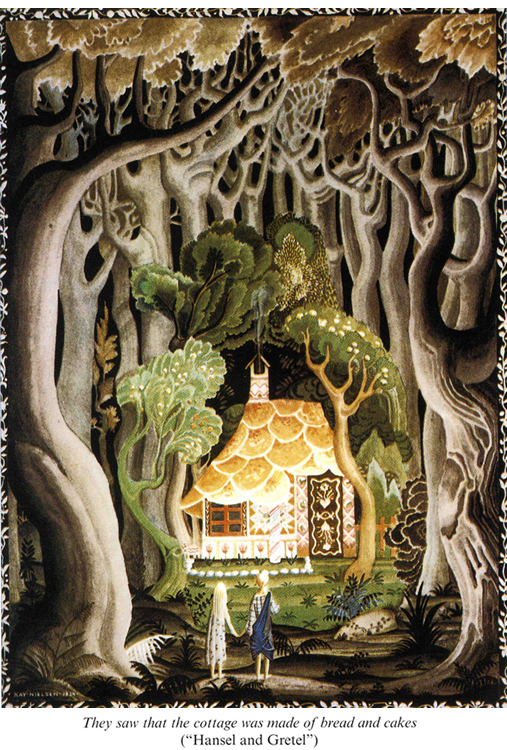 Gingerbread Memories - Hansel and Gretel Discover the Gingerbread Cottage