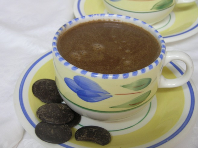 A Celebration of Chocolate - Hot Chocolate with Coconut Milk