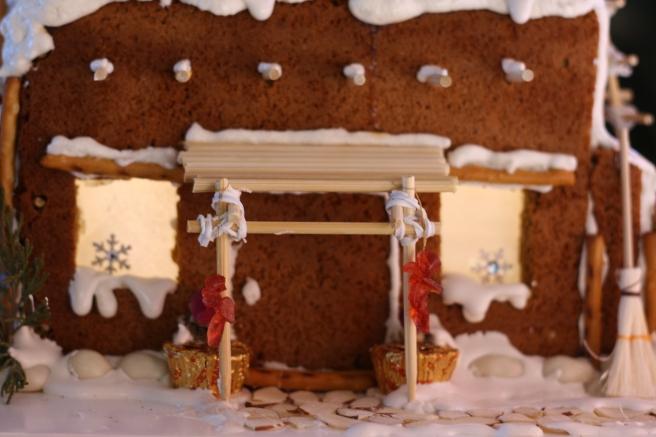 Gingerbread Memories - Southwest Pueblo Gingerbread House