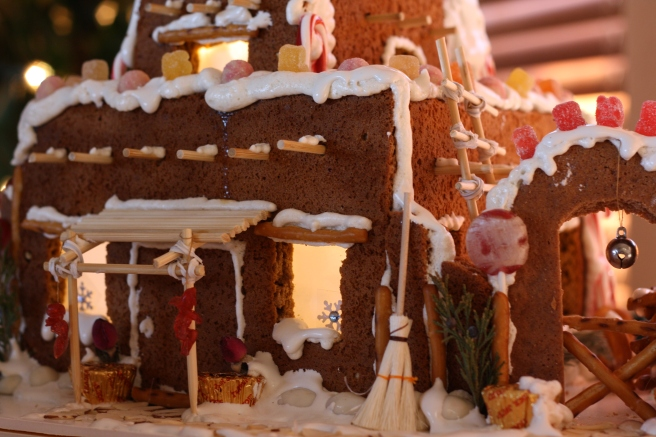 Gingerbread Memories - Southwest Pueblo Gingerbread House