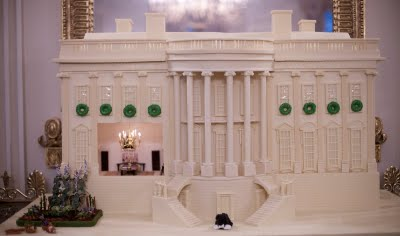 Gingerbread Memories - White House Gingerbread House