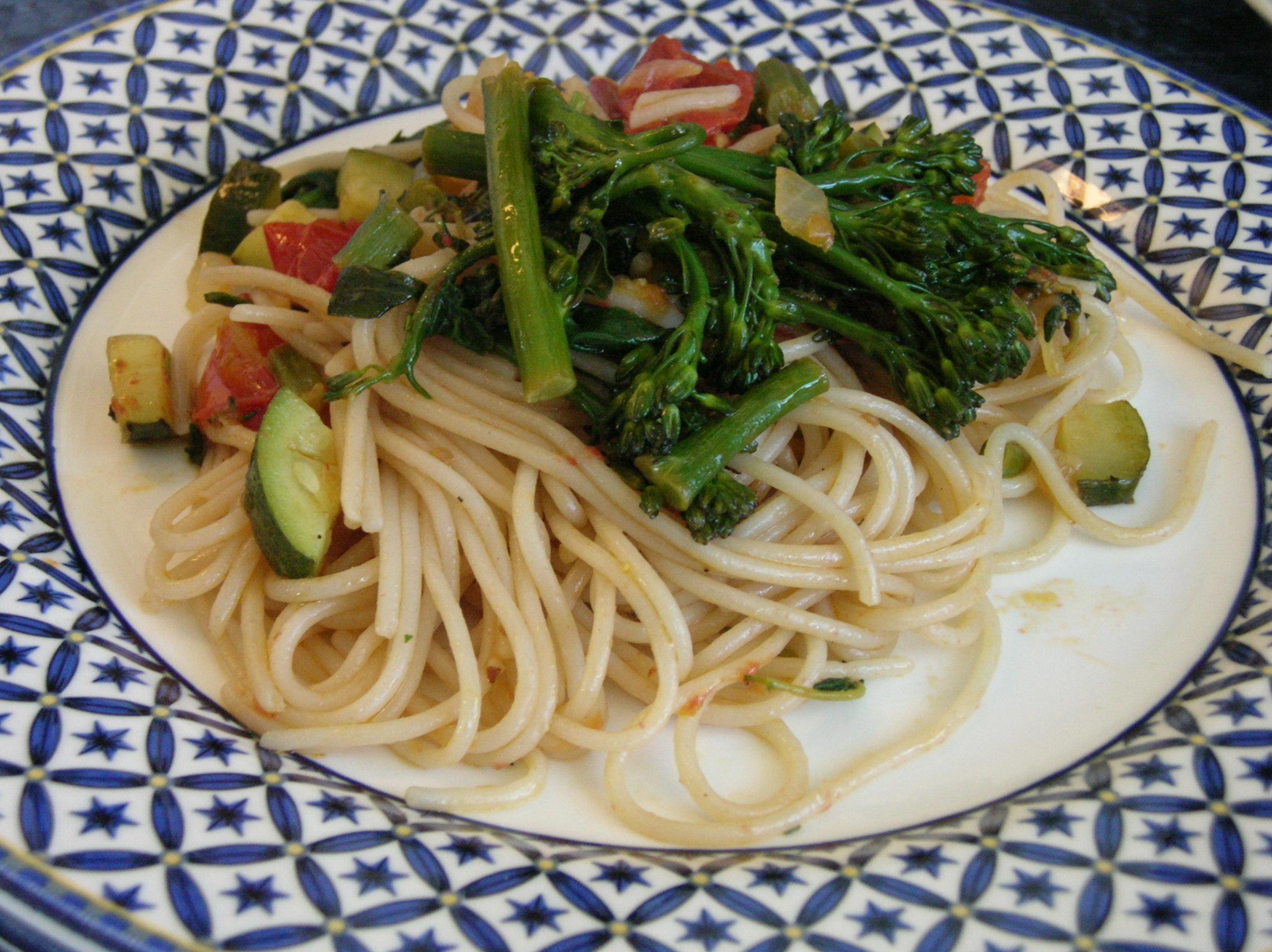 Mediterranean-style Rice Pasta