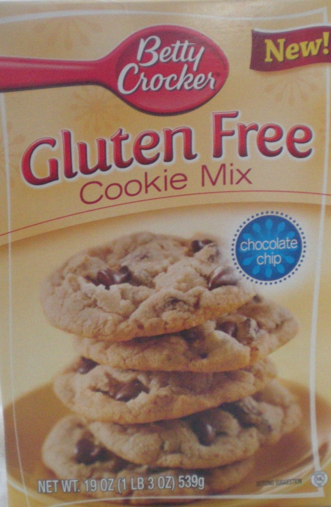 Betty Crocker Gluten Free Chocolate Chip Cookie Mix Product Revew