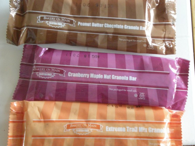 Bakery on Main Product Review - Gluten Free Granola Bars