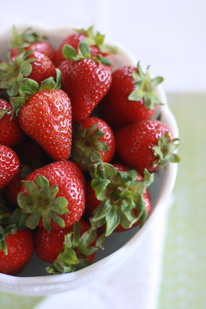 Strawberry Shortcake - Bowl of Strawberries