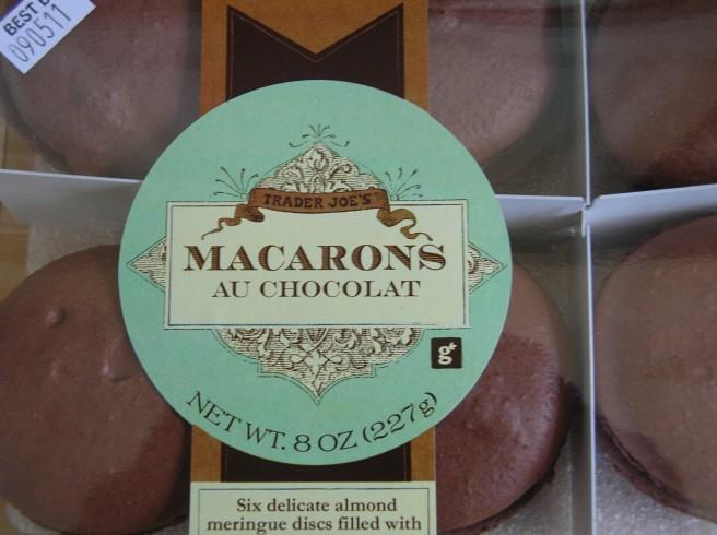 Trader Joe says Bonjour to Macarons - Gluten Free