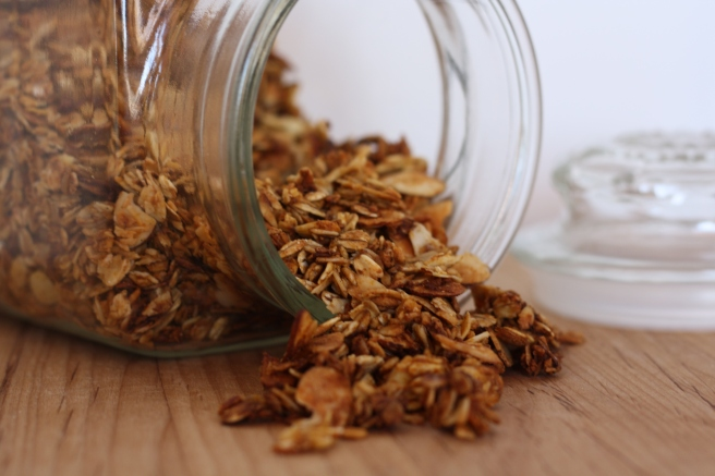 Pumpkin-Ginger-Maple Granola