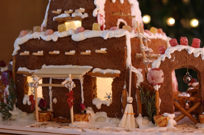 Pueblo Gingerbread House