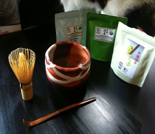 Japanese Tea Ceremony - Three Piece Matcha Set