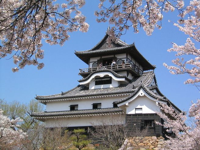 Spring is in the Air - Castle in Inuyama Aichi Prefecture