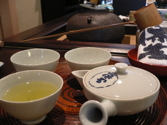 Spring is in the Air - Japanese Traditional Tea