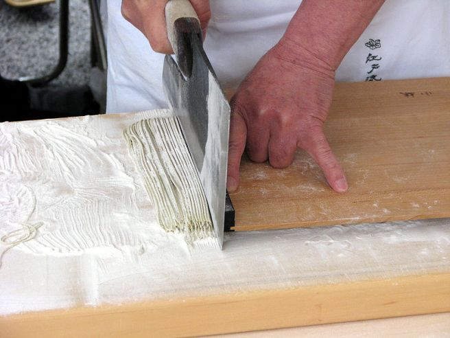 Mochi - Japanese Food Culture - Preparing Soba Noodles