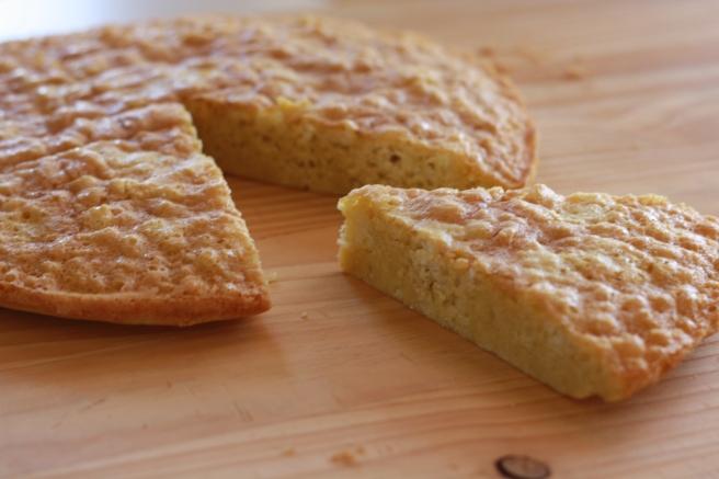 French Strawberry Cake - Gluten free Sponge Cake (Genoise)