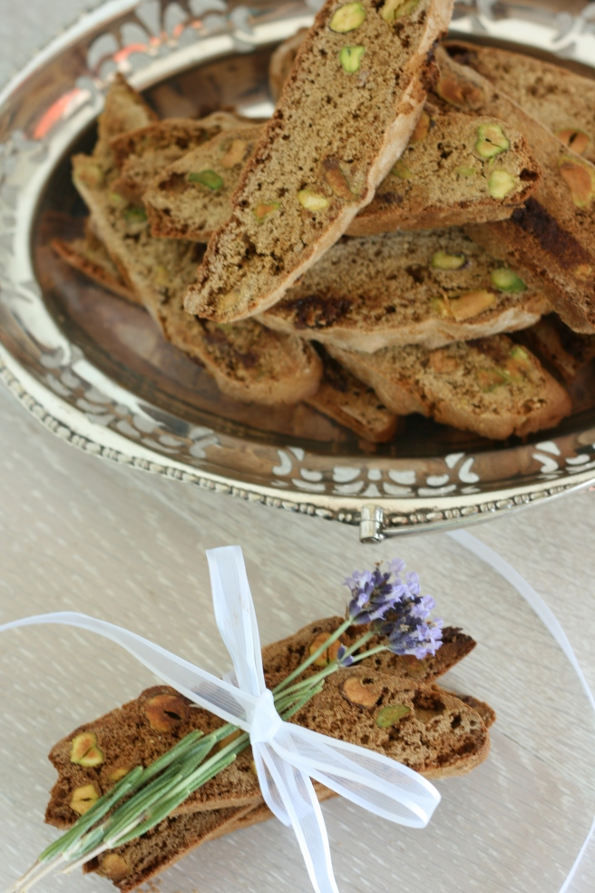 Pistachio-Biscotti, A gluten free alternative