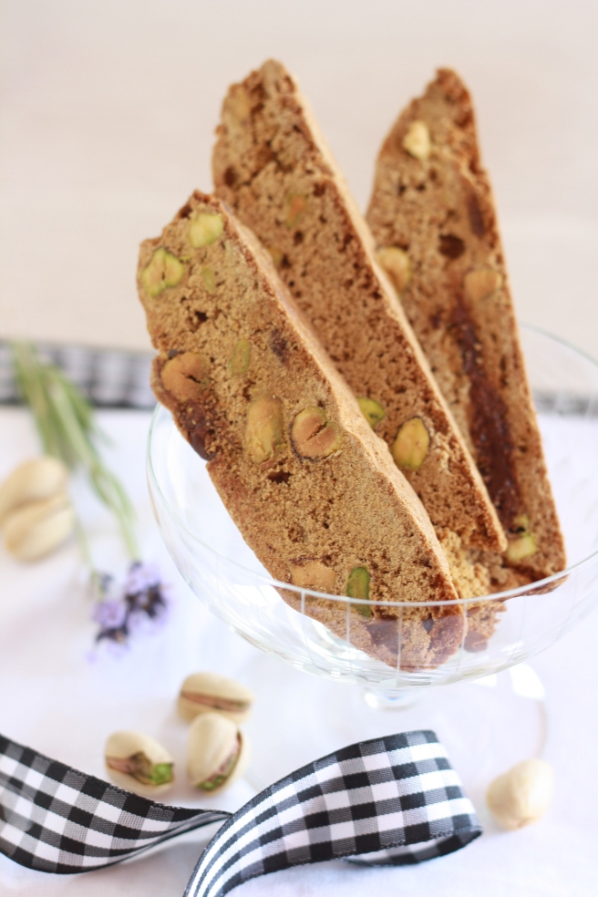Pistachio Biscotti, A gluten free alternative
