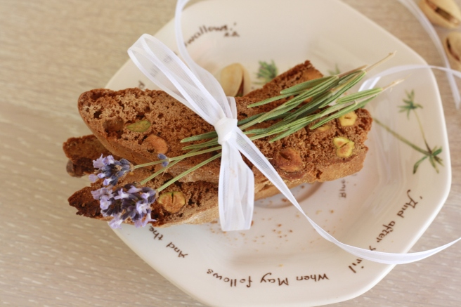 Pistachio Biscotti - A gluten free alternative
