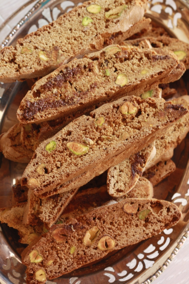 Pistachio Biscotti - A gluten free alternative