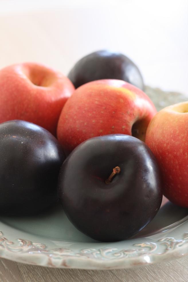 Apple-Plum Galette