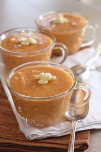 Persimmon Pudding, copyright 2012, gfcelebration.com, All rights reserved