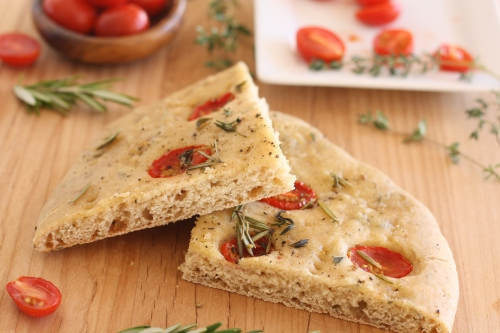 TWD: Gluten free Focaccia, copyright 2013, gfcelebration.com, All rights reserved