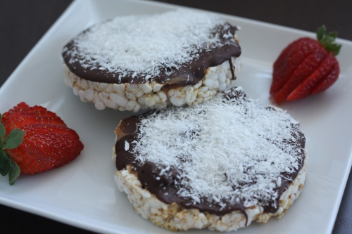Chocolate Rice Cakes, copyright 2013, gfcelebration.com, All rights reserved.
