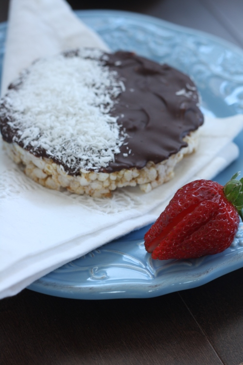 Chocolate Rice Cakes, copyright 2013, gfcelebration.com, All rights reserved