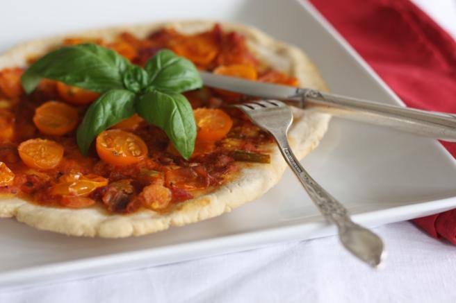 Eastern Mediterranean Pizza